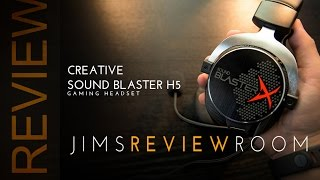creative Sound BlasterX H5 - Gaming Headset - Review