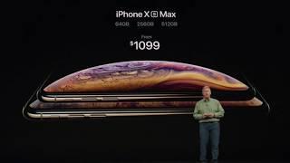 APPLE KEYNOTE [12 09 2018] - Highlights - Zusammenfassung - deutsch - iPhone 10S 10S Max 10R Watch4