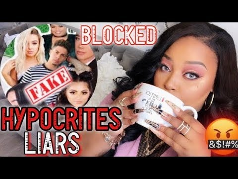 HYPOCRITE YOUTUBER TAG! EXPOSING FAKE YOUTUBERS!