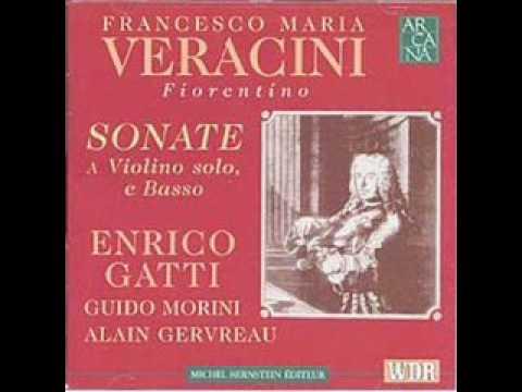Veracini Sonata No 12 Ciaconna  (Enrico Gatti)