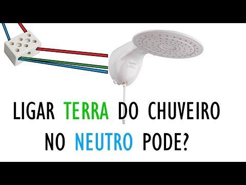 LIGAR TERRA NO NEUTRO DO CHUVEIRO PODE?