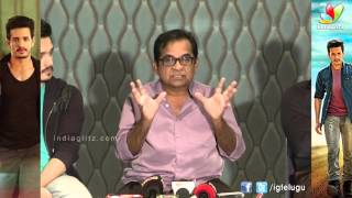 brahmanandam speech akhil movie success meet