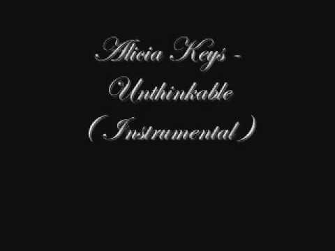 Alicia keys  unthinkable im ready  instrumental