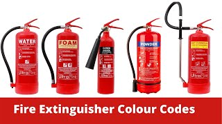 Fire extinguisher colour codes | Fire extinguisher training video | Learn Safety Online