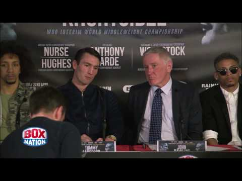 Leicester show April 22nd press conference: Langford, Yarde, Woodstock