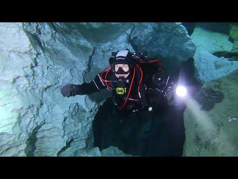 Как не бояться курсов пещерного дайвинга