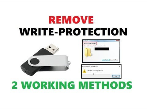 How to Remove Write Protection from USB Flash Drive 2018 | 2 Simple Methods