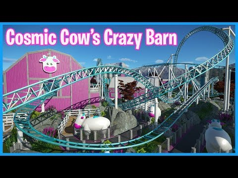 Cosmic Cows Crazy Cream Barn! Coaster Spotlight 448 | Contest Entry #PlanetCoaster
