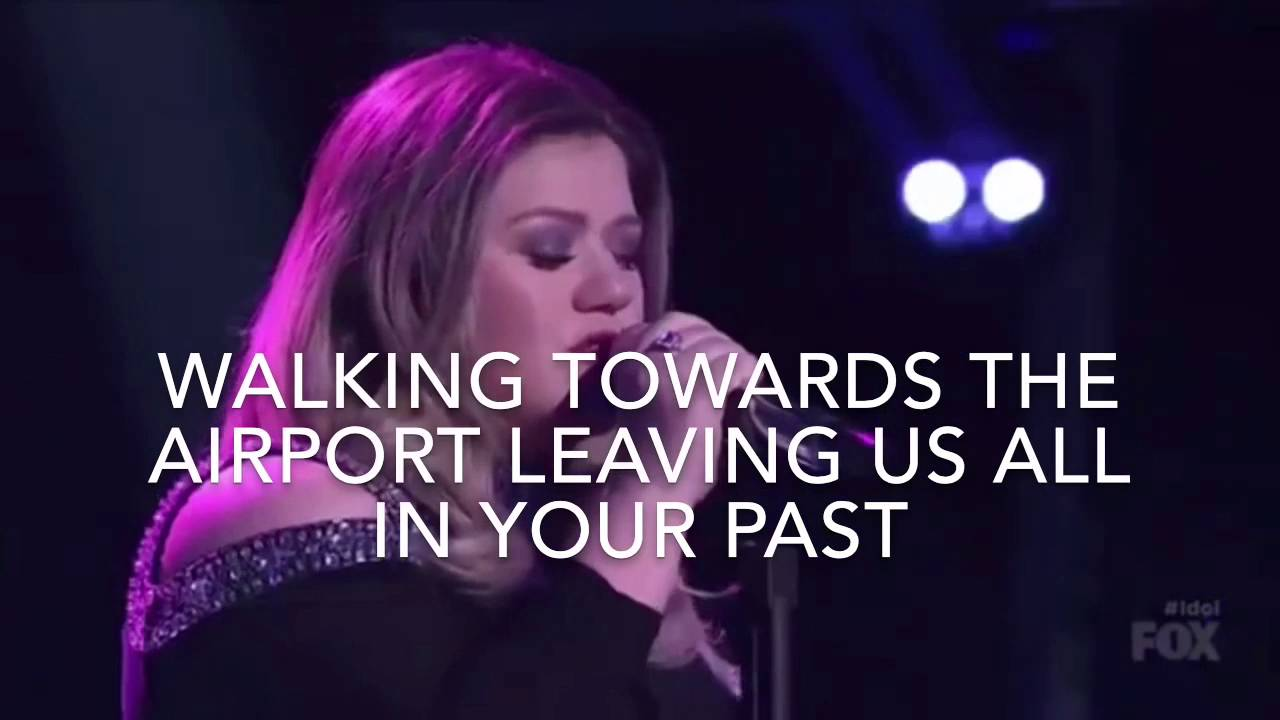 Kelly Clarkson Piece By Piece American Idol Lyrics Youtube