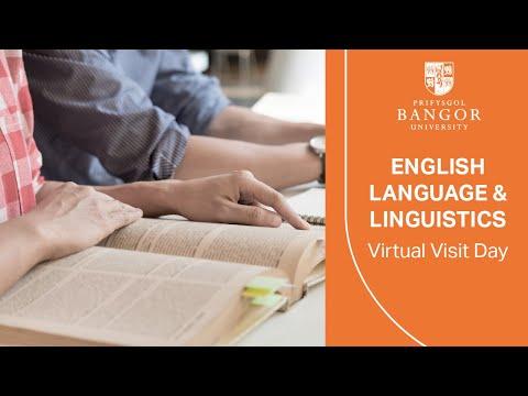 Virtual Visit Day - English Language And Linguistics