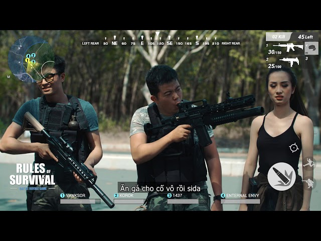 [Rules of Survival Vietnam] Rules of Survival | Shopping Cùng Jun Vũ và Lê Dương Bảo Lâm