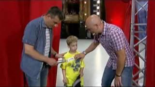 Hrvatski Super Talent (18. 09. 2011.) - Sven Benko (7.god.)
