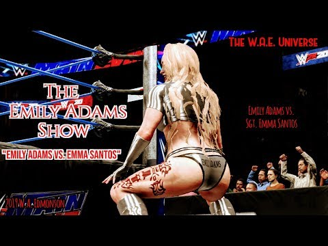 WWE 2K20 W.D.: The Emily Adams Show ( Webisode: 144: Emily Adams Vs. Sgt. Emma Santos ) Xbox One