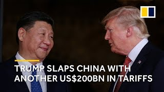 Trump slaps China with another round of tariffs thumbnail