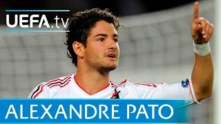 Milan's Alexandre Pato scores after just 24 seconds against Barcelona