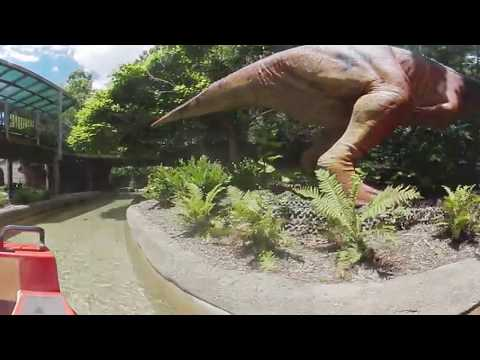 Dinosaur Island at the Columbus Zoo / Gear 360