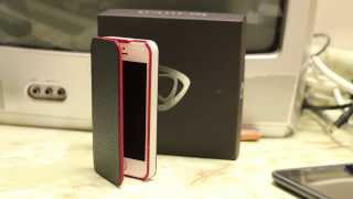 Luxury Leather Case For The Iphone - Calypso Book Case - In-depth Review