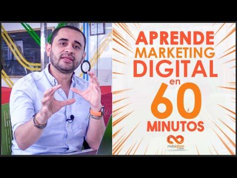 Curso Aprende marketing digital en 60 minutos, GRATIS y ONLINE 2020