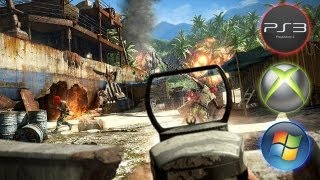 Far Cry 3 - Grafikvergleich PC (Windows) / PlayStation 3 / Xbox 360 von GameStar