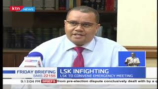 LSK convenes emergency meeting to review Prof. Ojienda, Irungu over  JSC post