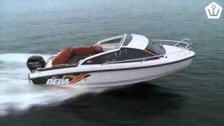 Bella 620 Hard Top - Огляд катери з каютою і жорстким верхом для риболовлі, відпочинку, буксирування лижника.