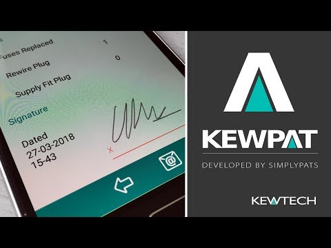 KEWPAT App - Summary of Tests and Recording the Customers Signature