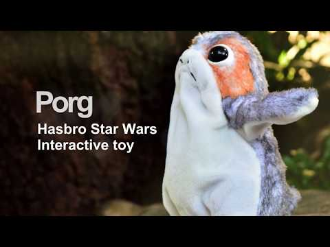 Hasbro Star Wars Interactive Porg Toy Unboxing Demo and Photo feature