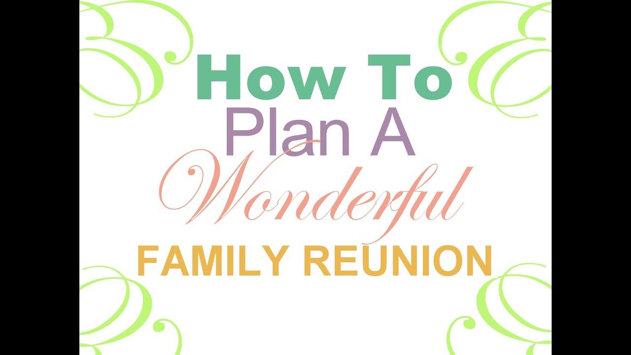 Family Reunion Planning Web App