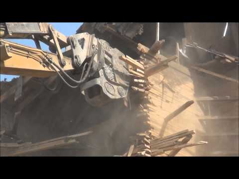 Beausejour Elevator Demolition Part 1