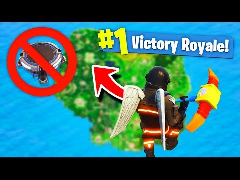 HOW TO SURVIVE *MAX* FALL DAMAGE! in Fortnite Battle Royale!