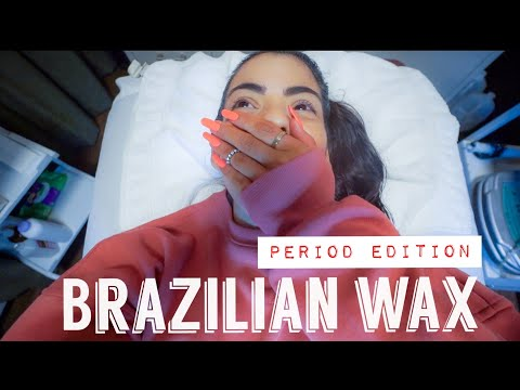 FIRST BRAZILIAN WAX DURING PERIOD