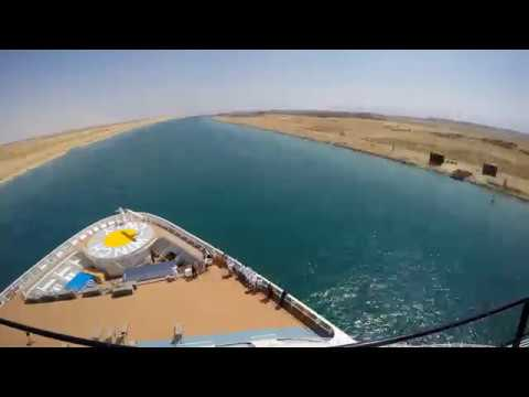 Quantum Of The Seas - Suez Canal Passage