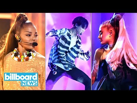 Billboard Music Awards Highlights: BTS, Janet Jackson, Ariana Grande & More! | Billboard News