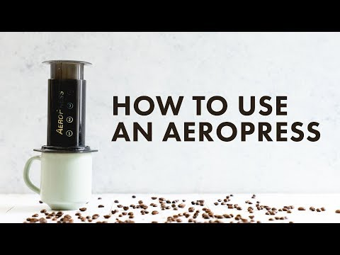 How To Use An Aeropress To Make Coffee A Couple Cooks