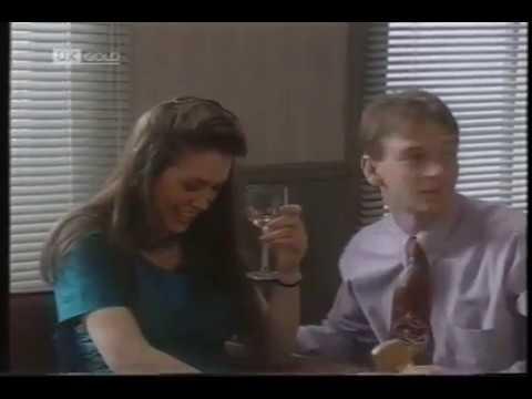 Ian Beale Meets Debbie The Hostess 19th May 1992