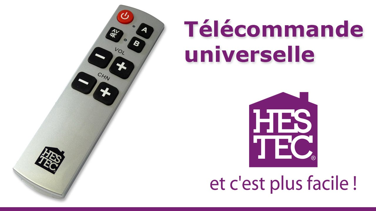 T L Commande Universelle Hestec Youtube