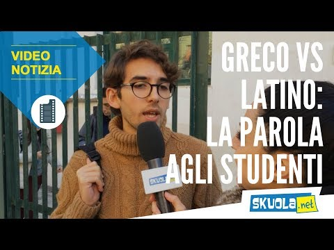 Challenge latino vs greco: quale preferiscono gli studenti?