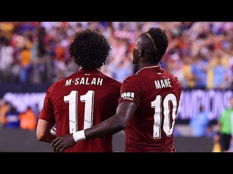 Sadio Mane & Mohamed Salah vs Man City (A) 18/19