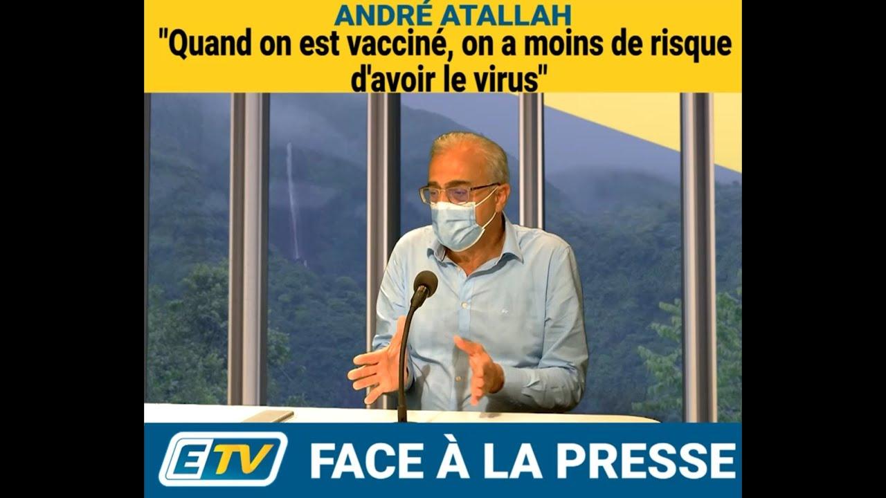 André ATTALAH Maire de Basse Terre ITW sur la situation du COVID (Partie 1)