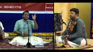 6. raGam in Mohanam - Vocal Concert by Sandeep Narayan - Oct 19th 2014