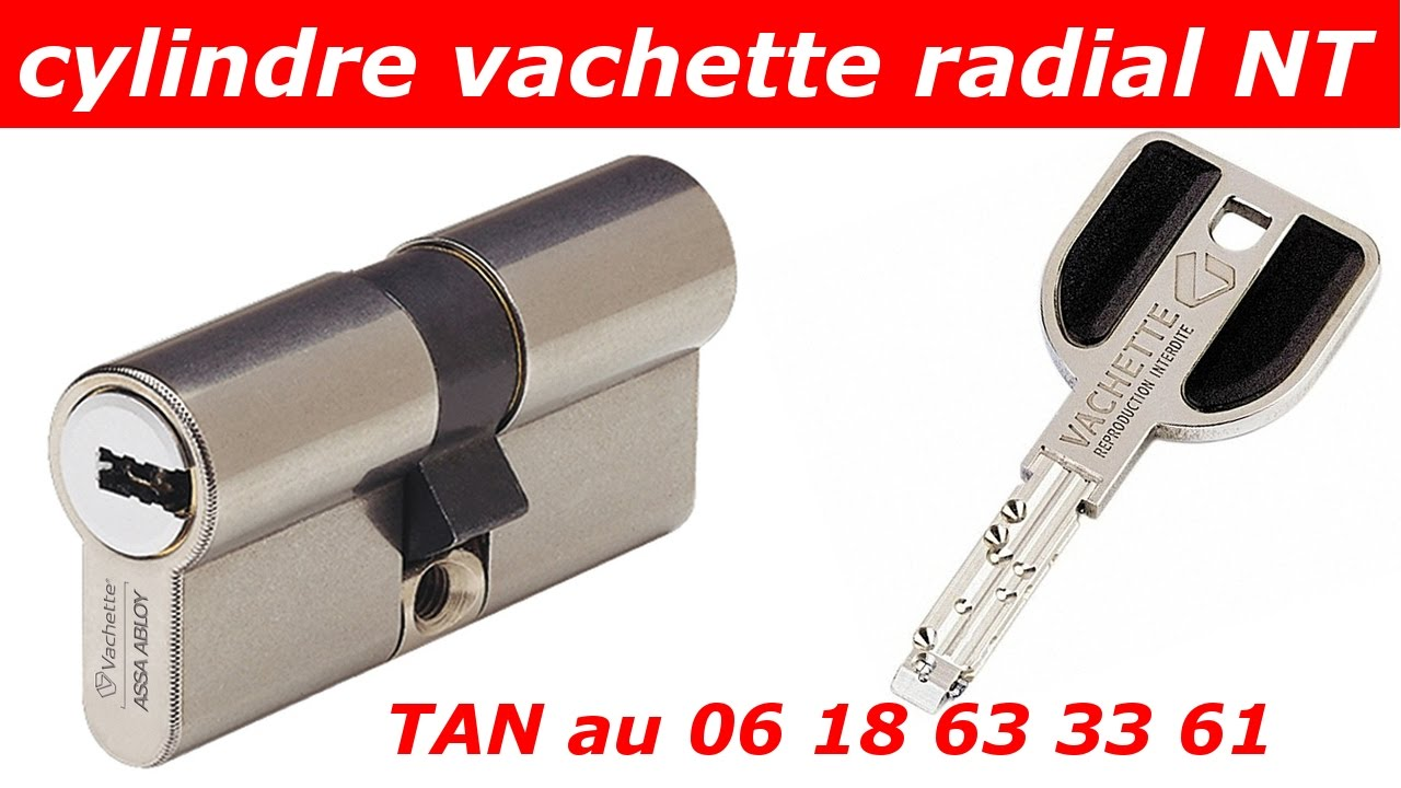 TUTO coment changer un cylindre vachette radial nt 32,5x42,5 ? - YouTube