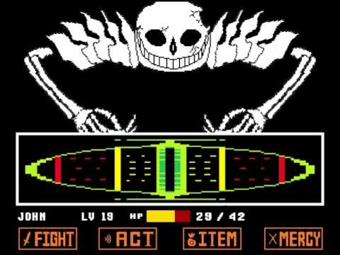 Undertale - Ultra-Sans Fight (Fan-made)