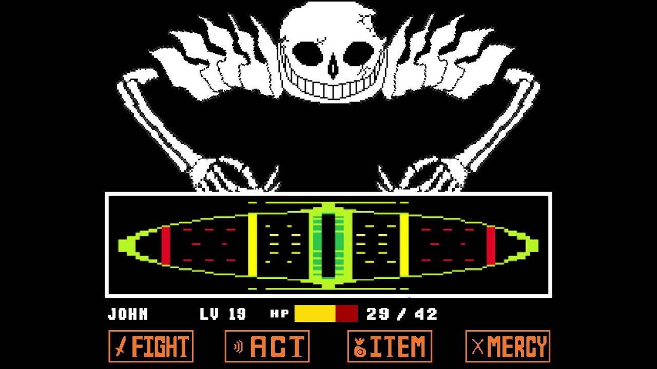 Undertale sans fight