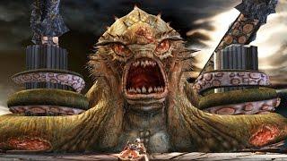 God of War 2: Kraken Boss Fight (4K 60fps)
