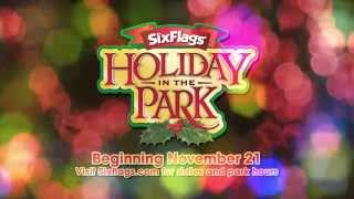 Official Holiday in the Park 2015 Promo Video at Six Flags Great Adventure