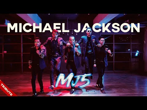 Michael Jackson Tribute By MJ5 Feat. Kumar Sharma - Smooth Criminal