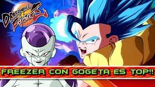 COMBINACIÓN TOP!! CHRISG con GOGETA y FREEZER!! DRAGON BALL FIGHTERZ