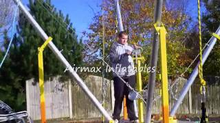 Video Airmax Inflatables 4 in 1 Trailer mounted Mobile BUNGEE TRAMPOLINE setup, part 2 download MP3, 3GP, MP4, WEBM, AVI, FLV Oktober 2018