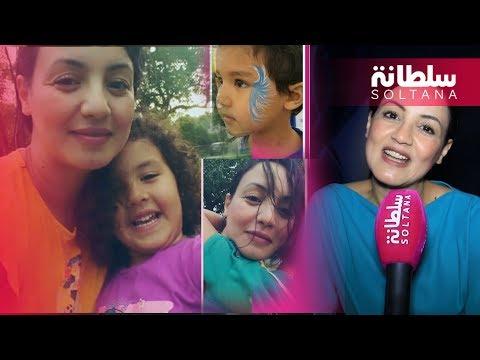 سناء عكرود توجه رسالة لزوجها محمد المروازي وتتحدث عن ابنيهما زينة والمهدي