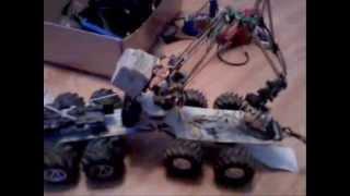 Forwarder samoróbka (model maszyny leśnej sterowany pilotem)
